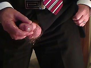 Bär Wichsen und Sperma
