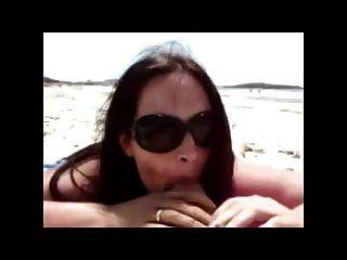 Strand Schlag und Handjob bvr