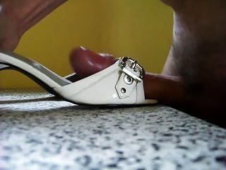 weiße Sandalen ficken