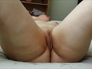 bbw mit rasierten Pussy Dildos selbst