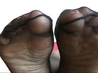 Ebenholz Nylon Füße spielen 2