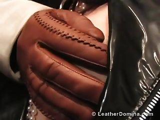 das Leder Domina Leder Fetisch Rauchen Fetisch