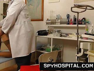 Gyno Klinik versteckte Kamera Porno