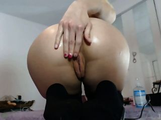 leichte Anal-Ball in blonde nh