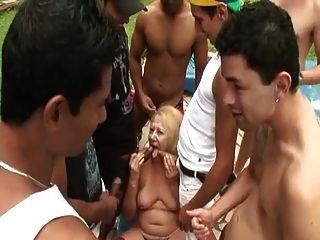 brasilianische großmutter victoria gangbanged