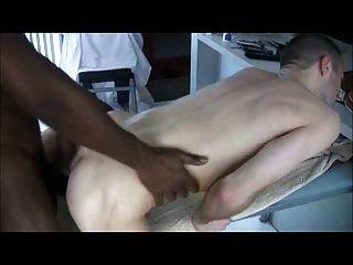 black fuck white ass .. so heiß