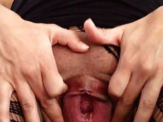 meine klaffende schwangere Pussy