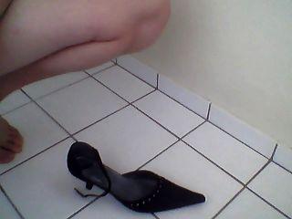 Sperma auf meine Mama Schuhe # 2