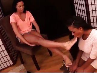 Schuhgeschäft Fuß Anbetung