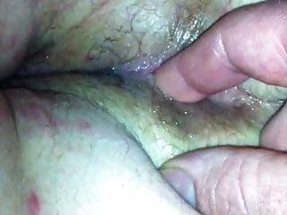 fingering mein wifes Arschloch
