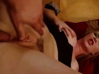 busty blonde babe bekommen ihr Arschloch hart gefickt