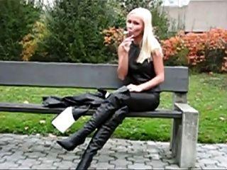 Rauchen Fetisch Monique Vegas 1 #by Raucher58