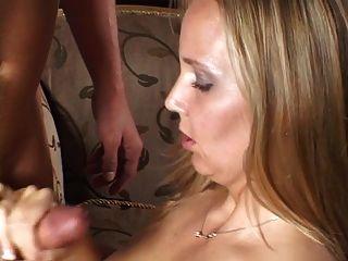 big tits chick geben handjob