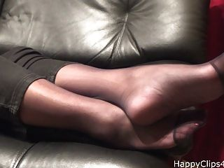 kimberly gefärbtes footplay