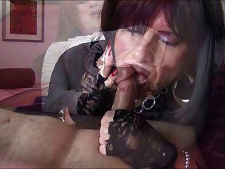 transvestite cumshot compilation
