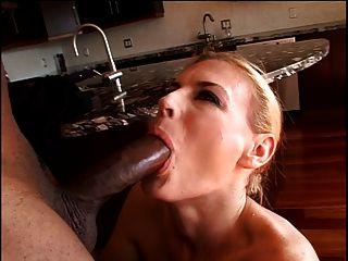 Milf fucking ein sexy schwarzen Bolzen
