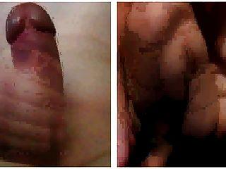 Hündin mit einem perfekten Körper masturbieren mit Taktstock anal