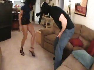 Polizei Frau Kick