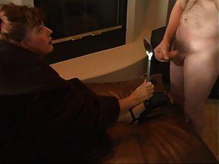 Ruck und Sperma für Pelz Herrin amateur