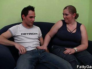 heißer Sex mit einem lustvollen bbw, der ihn sehnt
