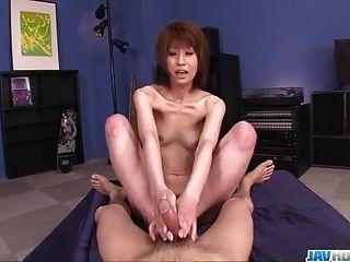 erstaunlich rei sasaki fährt und saugt wie eine Göttin