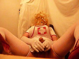 crossdresser plasticface krankenschwester 1
