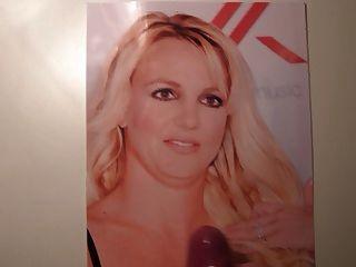 Sperma auf britney Spears 2