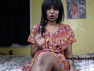 geile Lilie sexy indische Mutter Rollenspiel