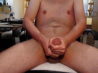 haarige ungeschnittene Vorhaut große Schwanz Sperma Explosion