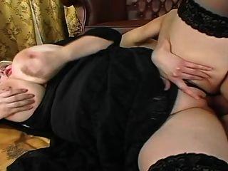 blonde bbw mit riesigen Titten