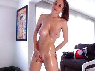 sexy Rothaarige Webcam Mädchen mit großen Titten 7