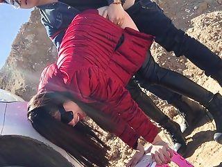 Amateur Chinesisch Fetisch Schlampe ficken in der Öffentlichkeit