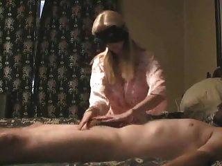 reife Paar Prostata-Massage mit riesigen cum
