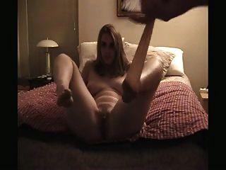 süße Frau necken in Strumpfhosen und Sex