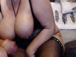 Big Butt reife Schlampe Verbrechen nimmt anal