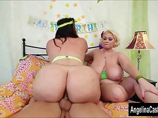 angelina castro bbw Geburtstag 3way behandeln!