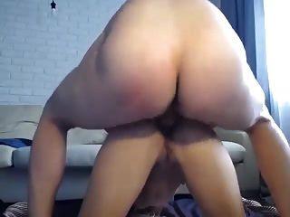 Hot Chick gefickt anal auf Webcam