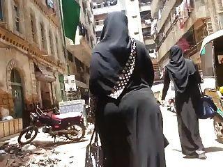 bbw ass hijab arabischen