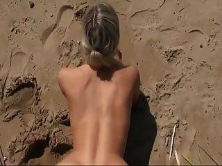 heißer Sex am Strand