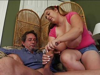 massive Titten wichst vom Lehrer