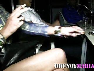 brunoymaria sol se folla ein un yogurin que le regala su novio