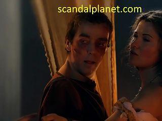 lucy lawless \u0026 jaime murray dreier sex in spartacus serie