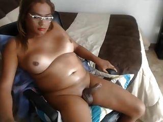 mollige kolumbianische Transen