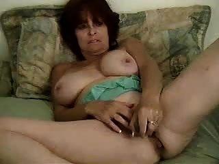brunette granny anal cam