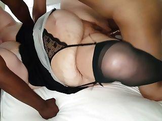 Frau mit 2 seltsamen bbc Studs bei Motel fuck und saugen 4