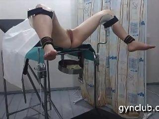 Orgasmus auf dem gynäkologischen Stuhl