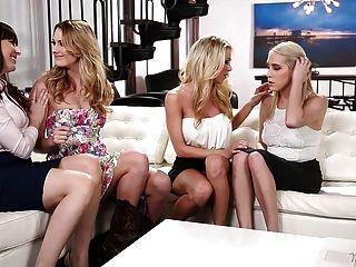 erstaunliche lesbische Vierer