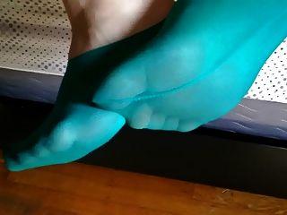 verschwitzte stinkende Footie-Socken ...