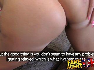 fakeagentuk petite uk babe versucht erstmal anal