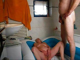 pissen und im nassen ficken